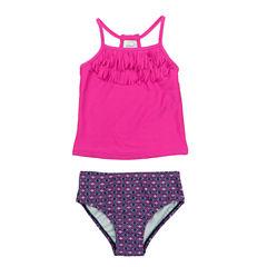 Carter's Girls Pattern Tankini Set - Baby