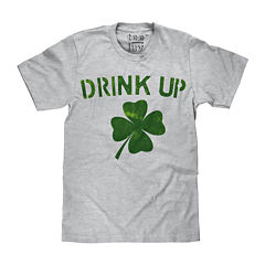 ST PATTY'S DRINK UP Short-Sleeve Graphic T-Shirt