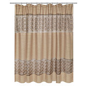 Popular Bath Spindle Shower Curtain