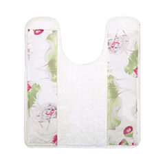 Popular Bath Flower Haven Bath Rug Collection