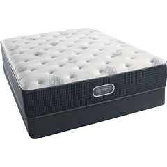 Simmons Beautyrest Silver® Fernanda Plush - Mattress + Box Springs