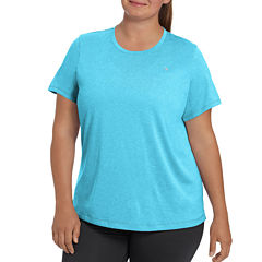 Champion Short Sleeve Scoop Neck T-Shirt-Womens Plus