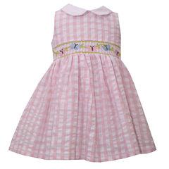 Bonnie Jean Short Sleeve Cap Sleeve A-Line Dress - Baby Girls