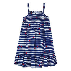 Okie Dokie Sleeveless Sundress - Preschool Girls
