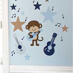 Carter's® Monkey Collection Wall Decals