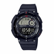Casio Twin Sensor Mens Black Strap Watch-Sgw-600h-1b