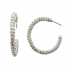 Vieste Rosa Hoop Earrings