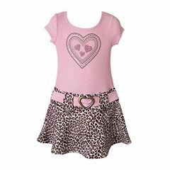 Lilt Sleeveless Drop Waist Dress - Preschool Girls