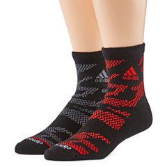 Adidas 2 Pair Quarter Socks