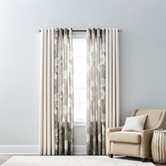 JCPenney Home Quinn & Farrah Grommet-Top Curtain Panels