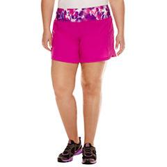 Xersion™ Solid Running Shorts Plus