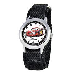 Disney Cars Kids Time Teacher Nylon Fast Strap Watch