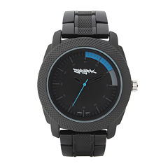 Zoo York® Mens Blue and Black Bracelet Watch
