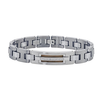 Mens 110 Ct Tw Diamond Chain Bracelet