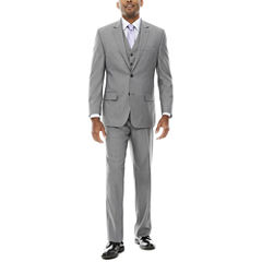IZOD® Sharkskin Suit Separate-Classic Fit