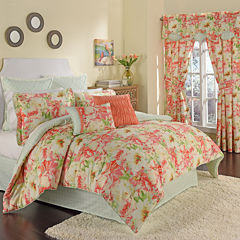 Waverly® Fresh Picked Reversible 4-pc. Comforter Set & Accessories