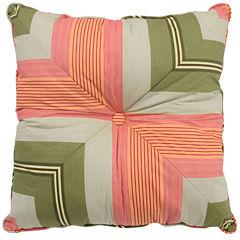Waverly® Wailea Coast Square Stripe Decorative Pillow