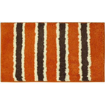 Delightful Bathtopia Ace Microfiber Stripe Bath Rug Collection