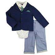 Nanette Baby Boys 4-pc. Suit Set-Baby