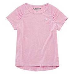 Champion Short Sleeve T-Shirt-Toddler Girls