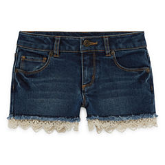Arizona Denim Shortie Shorts - Preschool Girls