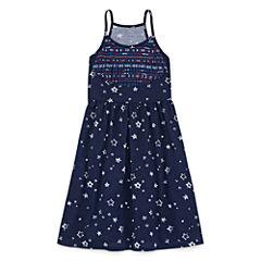 City Streets Sleeveless A-Line Dress - Girl's 4-16