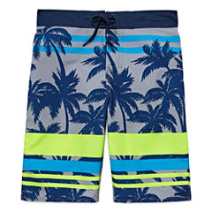 Arizona Boys Palm Swim Trunks-Big Kid