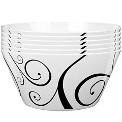 Zak Designs® Urbana Set of 12 Plastic Bowls