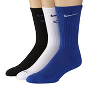 Nike® 3-pk. Dri-FIT Fly Crew Socks–Big & Tall