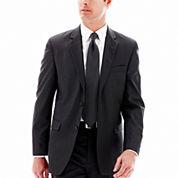 Aldolfo® Blue Herringbone Suit Jacket