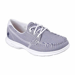 Skechers Go Step Sandy Womens Boat Shoes