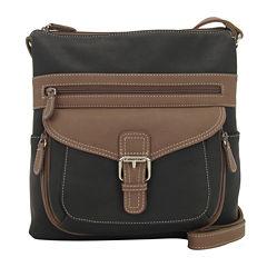 St. John's Bay® Contour Crossbody Handbag