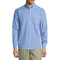 Dockers Long Sleeve No Wrinkle Button-Front Shirt
