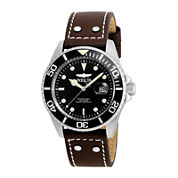 Invicta® Pro Diver Mens Brown & Black Stainless Steel Strap Watch
