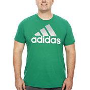 adidas® Adilogo Short-Sleeve Graphic Tee - Big & Tall