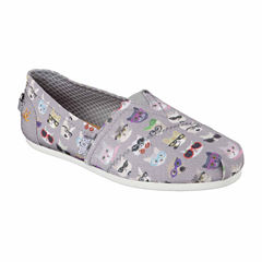 Skechers Bobs Kitty Smarts Womens Slip-On Shoes