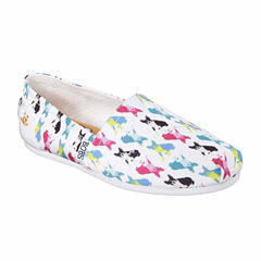 Skechers Bobs Bobs Double Vision Womens Slip-On Shoes