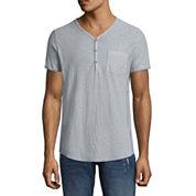 Decree Short Sleeve Henley Shirt