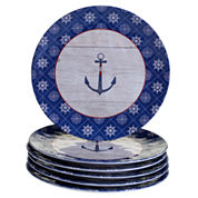 Certified International Nautique 6-pc. Dinner Plate