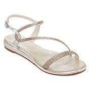 Bakers Hailee Asymmetrical Strap Sandals