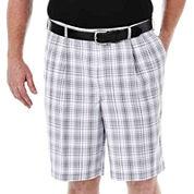 Haggar® Cool 18® Flat-Front Shorts - Big & Tall