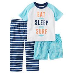 Carter's 3-pc. Kids Pajama Set Boys