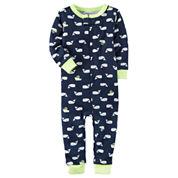 Carter's Short Sleeve One Piece Pajama-Baby Boys