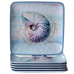 Certified International Ocean Dream 6-pc. Salad Plate