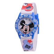 Disney Kids Time Teacher Mickey Mouse Easy-Read Watch