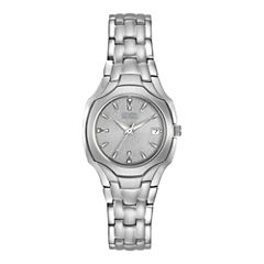 Citizen® Eco-Drive® Womens Stainless Steel Watch EW1250-54A