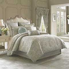 Queen Street® Carlina 4-pc. Jacquard Comforter Set & Accessories