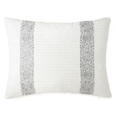 Eva Longoria Home Bethany Pleated Oblong Decorative Pillow