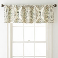 Eva Longoria Home Briella Rod-Pocket/Tab-Top Lined Valance