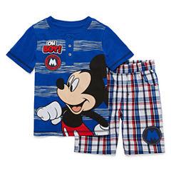 Disney by Okie Dokie 2-pc. Cars Short Set Boys